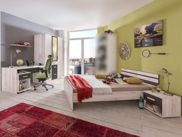 Jugendzimmer Cariba 5tlg. Weißeiche