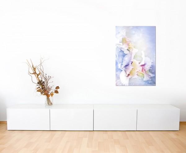 120x60cm Blume Blüte Hintergrund abstrakt