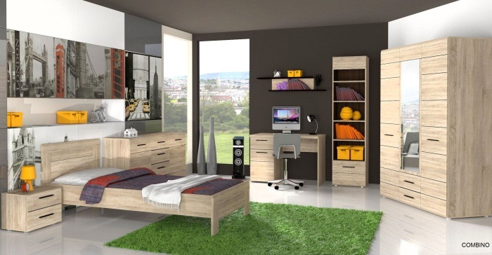 jugendzimmer combino jugendzimmer m bel. Black Bedroom Furniture Sets. Home Design Ideas
