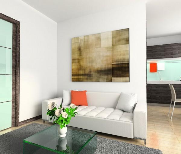 120x80cm Wandbild Hintergrund abstrakt texture beige grau braun