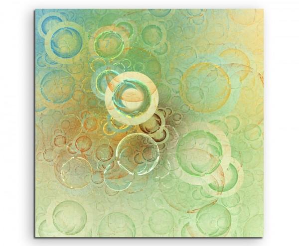 Digitale Seifenblasen auf Leinwand exklusives Wandbild moderne Fotografie für ihre Wand in vielen Gr