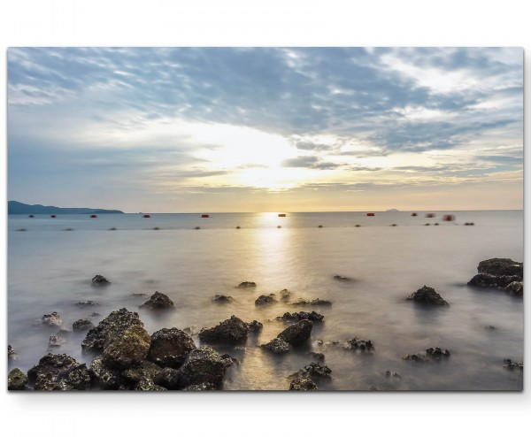 Thailand – Sai Kaew Strand - Leinwandbild