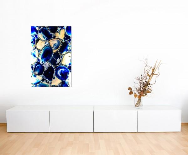120x80cm Granit Stein blau Hintergrund