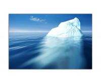 120x80cm Meer Wasser Eisberg