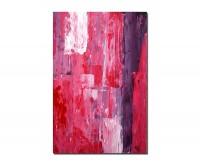 120x80cm Malerei abstrakt pink Kunstwerk
