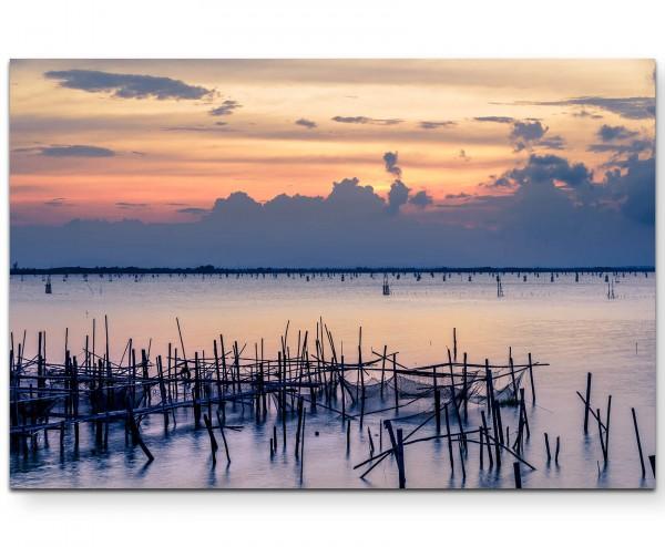 Sonnenaufgang – Meer - Leinwandbild