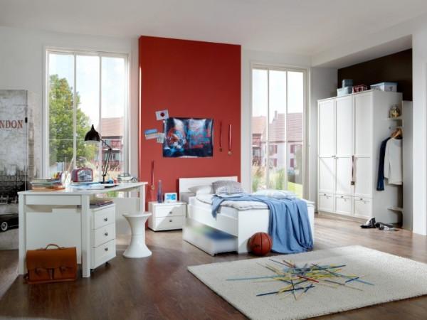 Jugendzimmer Filou 5tlg. Weiß