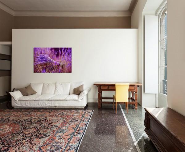 120x80cm Lavendel Strauß Blumen