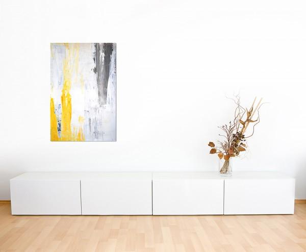 120x60cm Malerei Kunstwerk Farben abstrakt