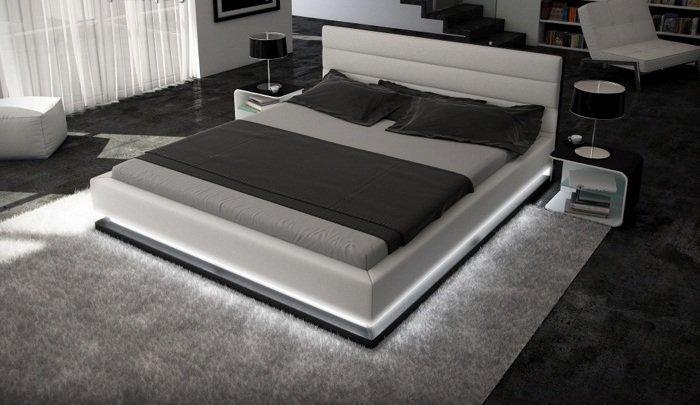 bett ripani 140 x 200 cm wei m bel. Black Bedroom Furniture Sets. Home Design Ideas