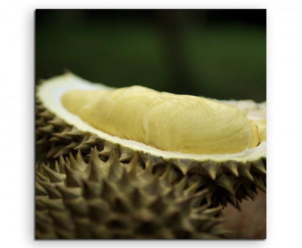 Food-Fotografie - Durianfrucht auf Leinwand