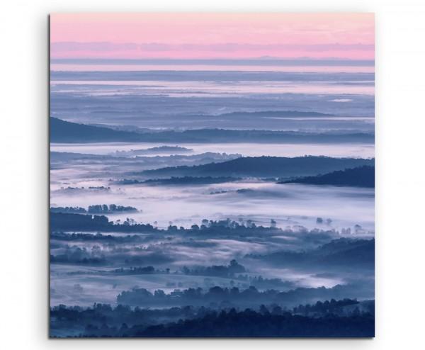 Landschaftsfotografie – Shenandoah National Park auf Leinwand exklusives Wandbild moderne Fotografi