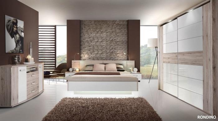 Schlafzimmer Rondino SchwebetürenschrankAusstellungsware 1a Neuzustand