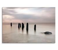 120x80cm Wandbild Schottland Meer Schiffswrack