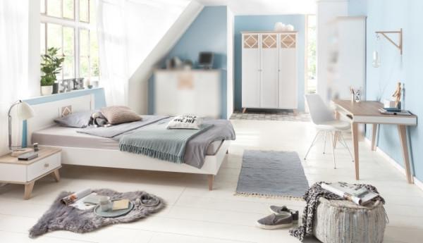 Jugendzimmer Victor 4tlg. mit 140er Bett