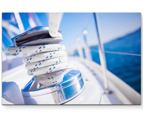 Seil – Segelboot - Leinwandbild