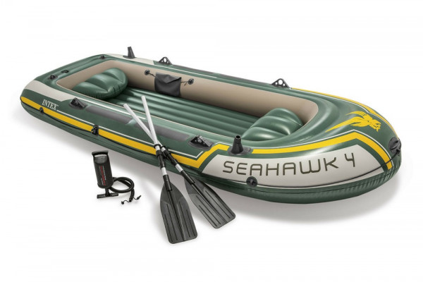 INTEX Schlauchboot Seahawk 4 68351
