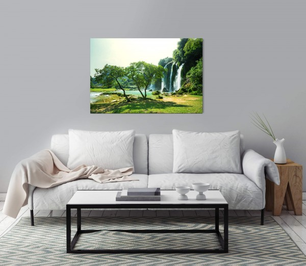 Vietnamesische Landschaft Wandbild in verschiedenen Größen