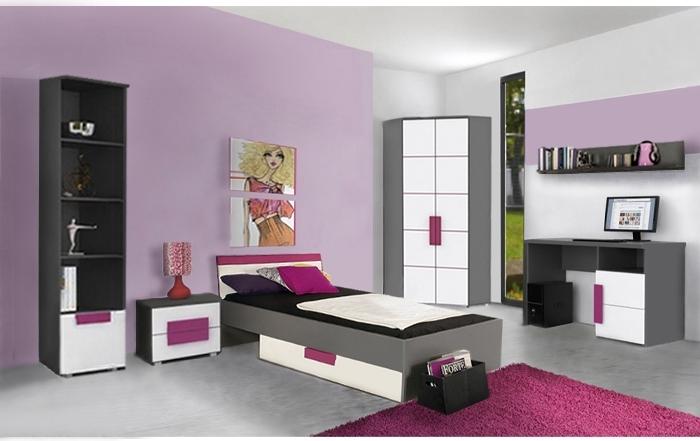 jugendzimmer libelle 7tlg mit eckkleiderschrank m bel. Black Bedroom Furniture Sets. Home Design Ideas