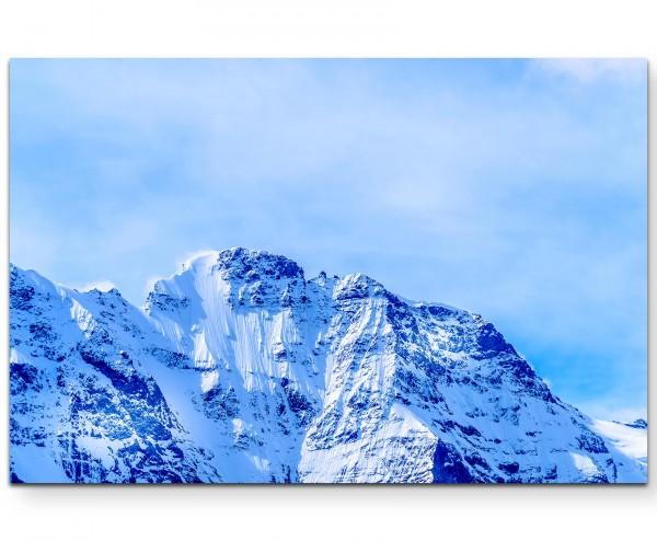 Lauterbrunnen – Alpenlandschaft in der Schweiz - Leinwandbild