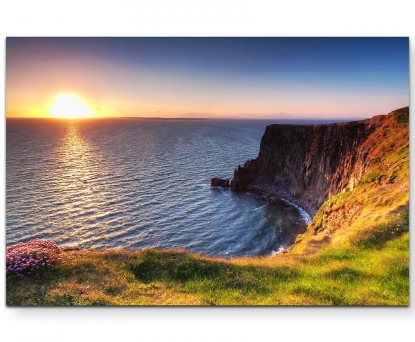 Cliffs of Moher – Sonnenuntergang - Leinwandbild