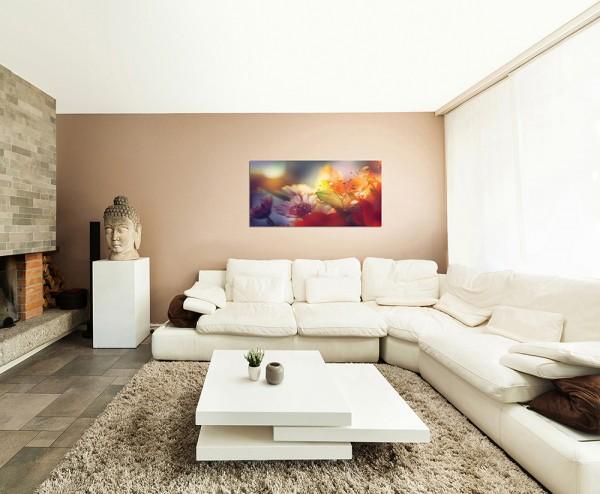 120x80cm Blumen abstrakter Hintergrund
