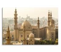 120x80cm Wandbild Ägypten Kairo Moschee