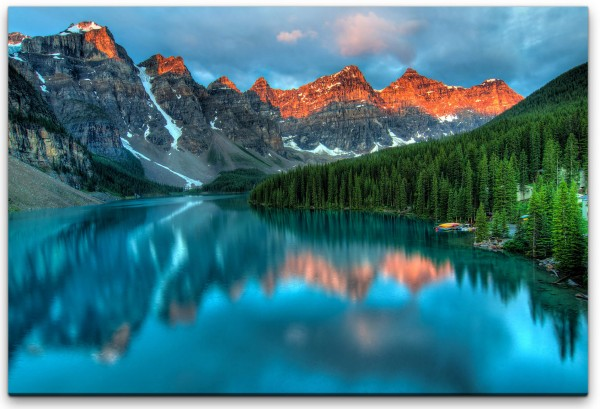 Moraine Lake-Banff National Park Wandbild in verschiedenen Größen