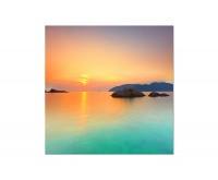 80x80cm Sonnenuntergang See Con Dao Vietnam