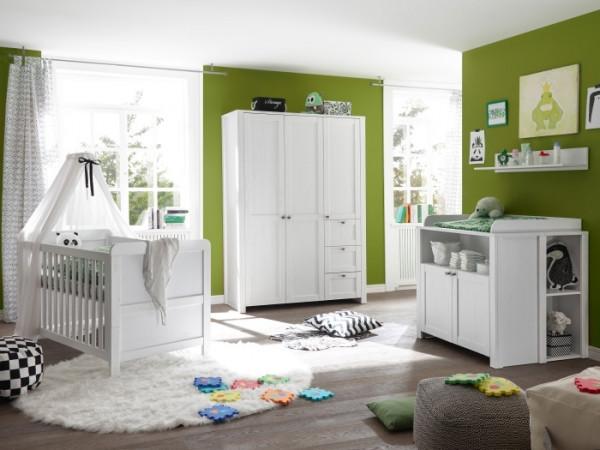 Babyzimmer Luisa in Weiß 7 teilig +++ von möbel-direkt+++ schnell und günstig