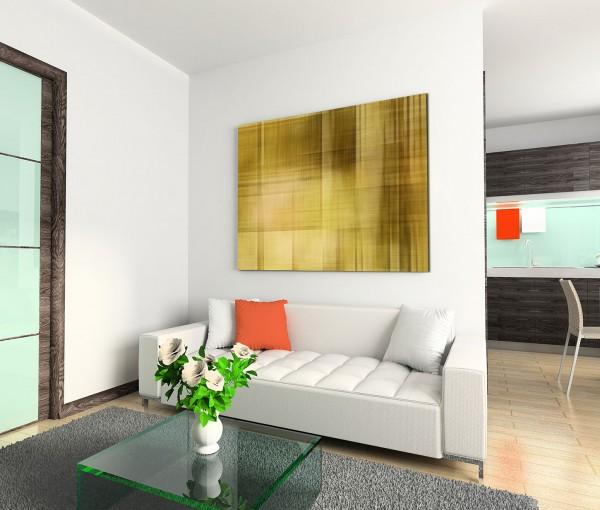 120x80cm Wandbild Hintergrund Geometrie abstrakt grün braun beige