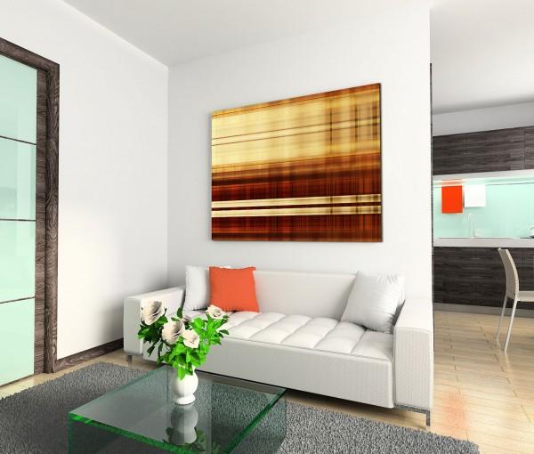 120x80cm Wandbild Hintergrund abstrakt rot braun gelb