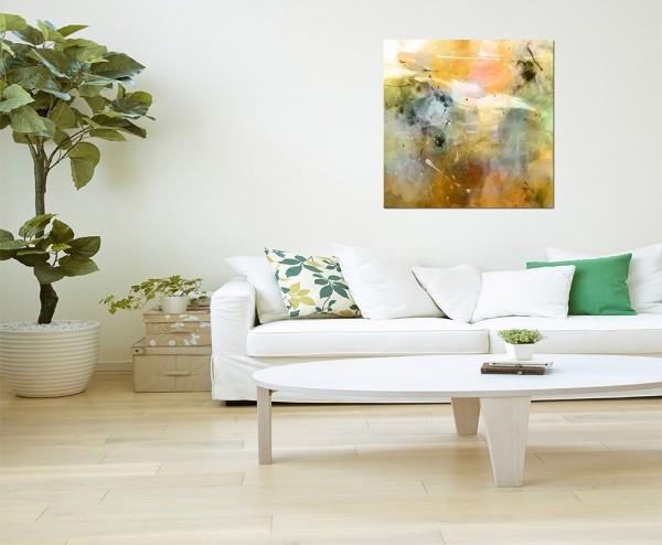 80x80cm Malerei Farben abstrakt