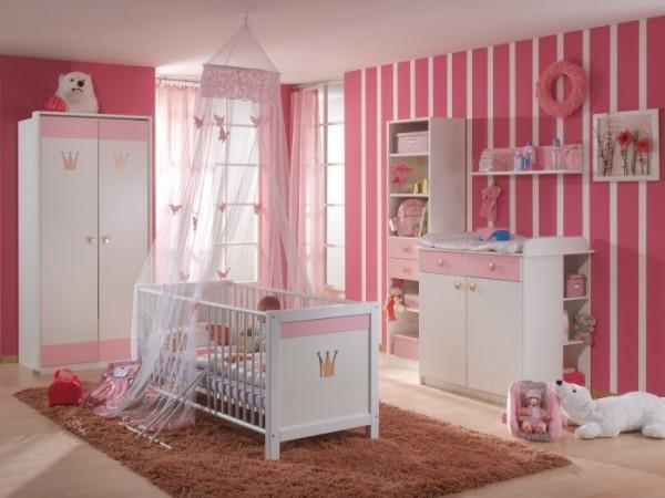babyzimmer cinderella 3 teilig m bel. Black Bedroom Furniture Sets. Home Design Ideas