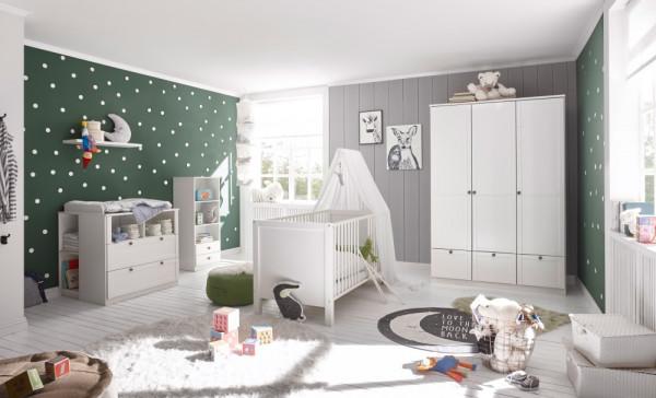Babyzimmer Landhaus in Weiß 7 teiliges Megaset +++ von möbel-direkt+++ schnell und günstig