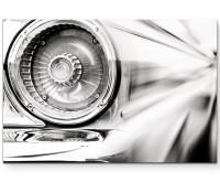 klassisches Auto – Nahaufnahme - Leinwandbild