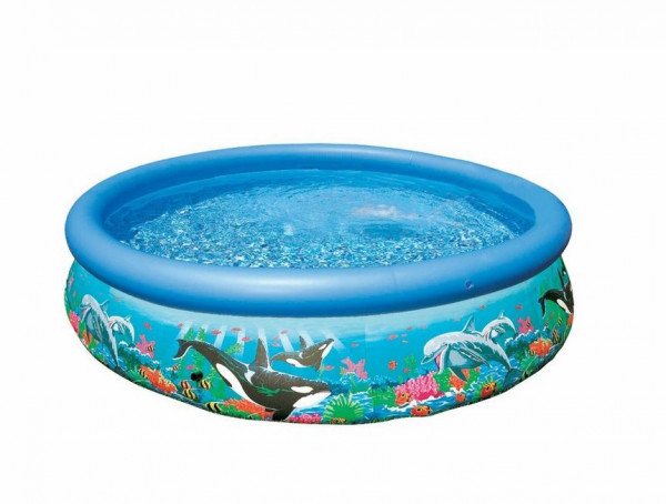 Ersatzpoolfolie 11303 zu Intex 28126 Ø 305 x 76 cm Quick Up Pool