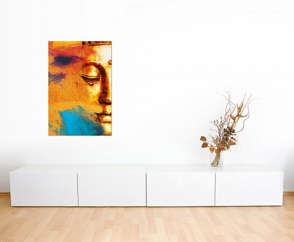 120x80cm Gesicht Buddhist abstrakt